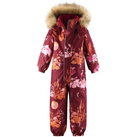 Reima Trondheim Winter Overall Kids lingonberry red